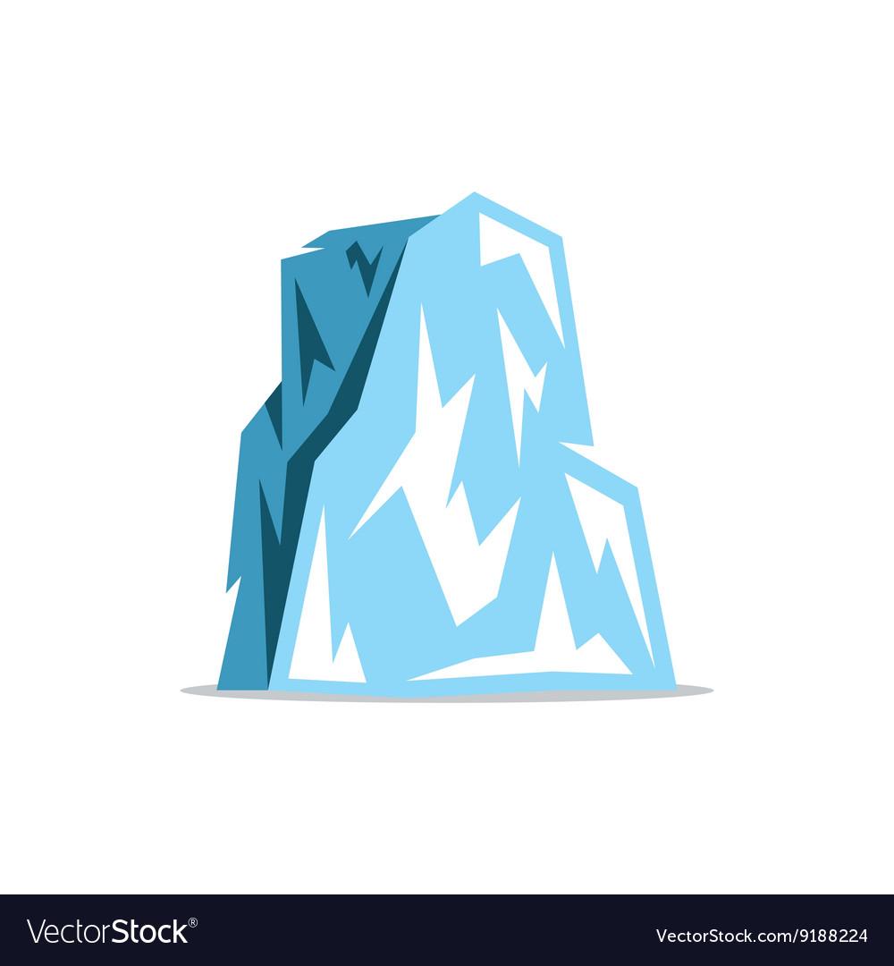 Iceberg Cartoon vector image