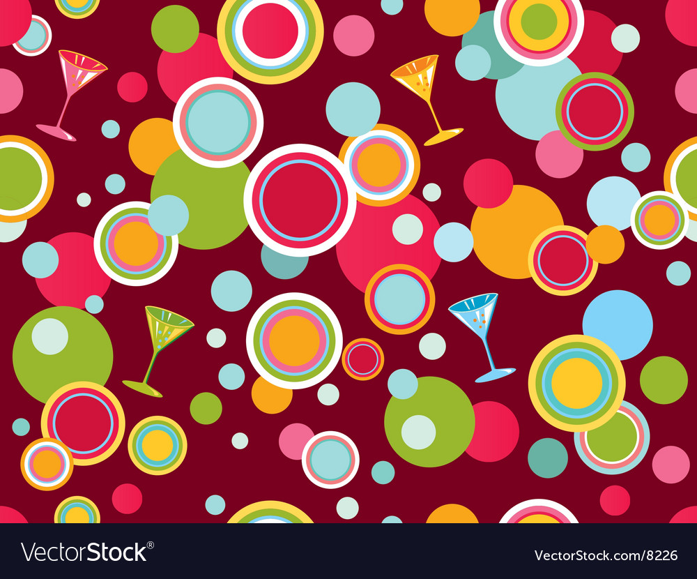 Circles design vector image