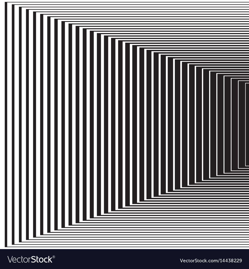 Halftone pattern background striped lines vector image