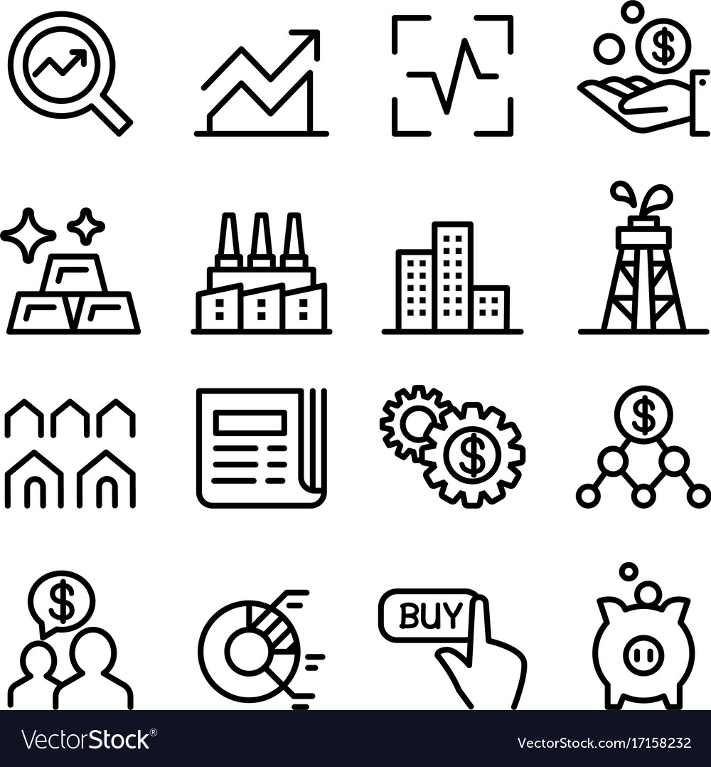 Icon Of Som Sign With Up And Down Stock Market Forex Trend Arrows Isolated On