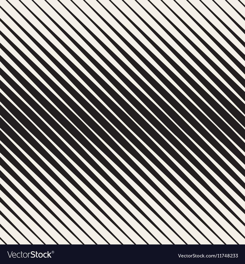 Seamless Black and White Halftone Diagonal vector image