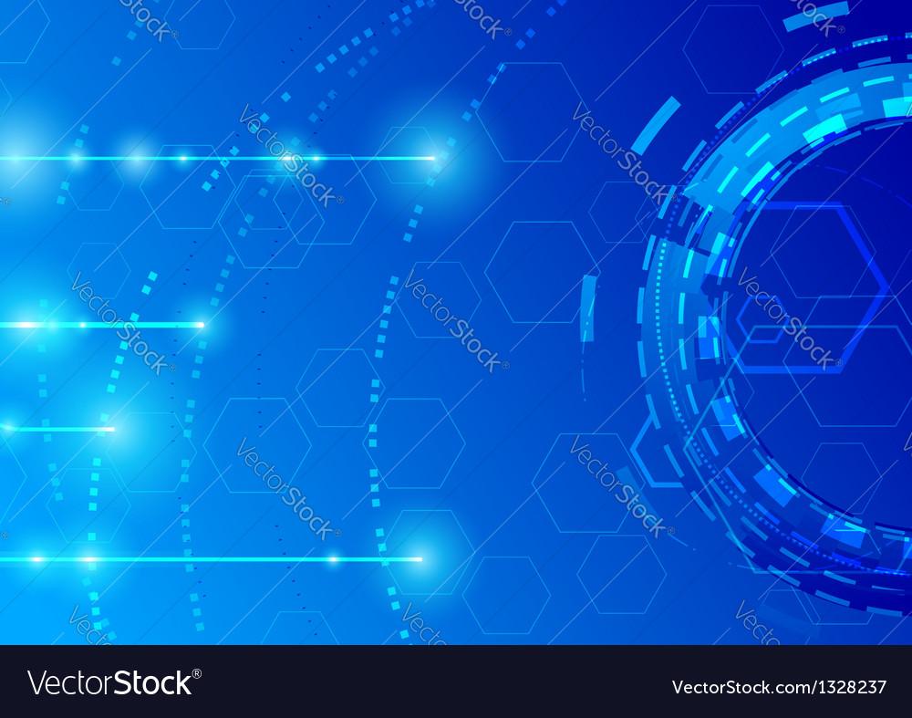 Futuristic abstract modern background vector image