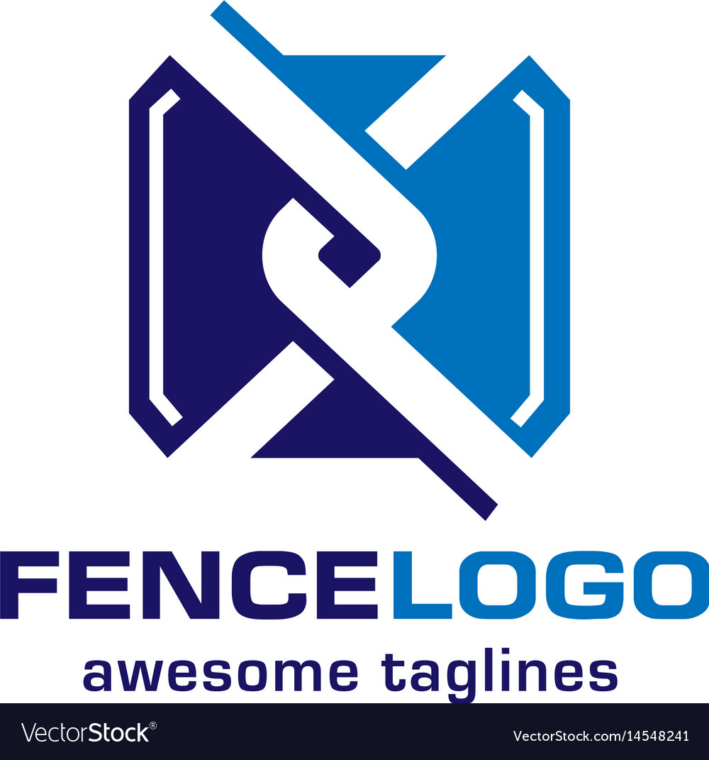 Chain Link Vector chain link fence logo royalty free vector image
