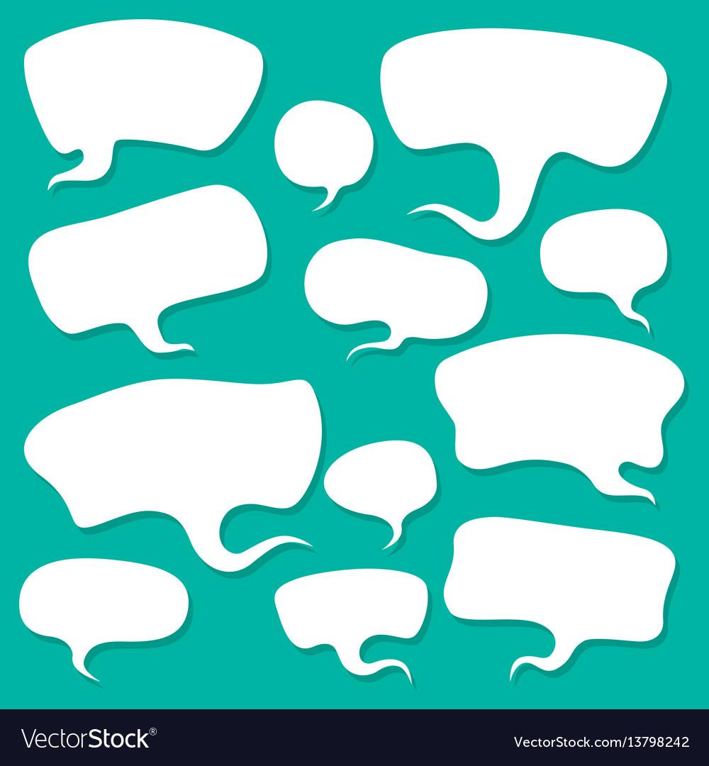 Cloud talk vector image