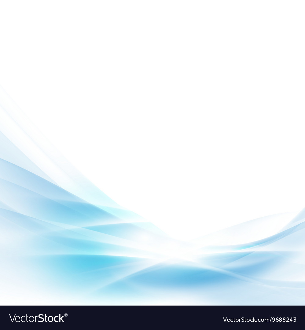 Abstract spread blue wave background vector image
