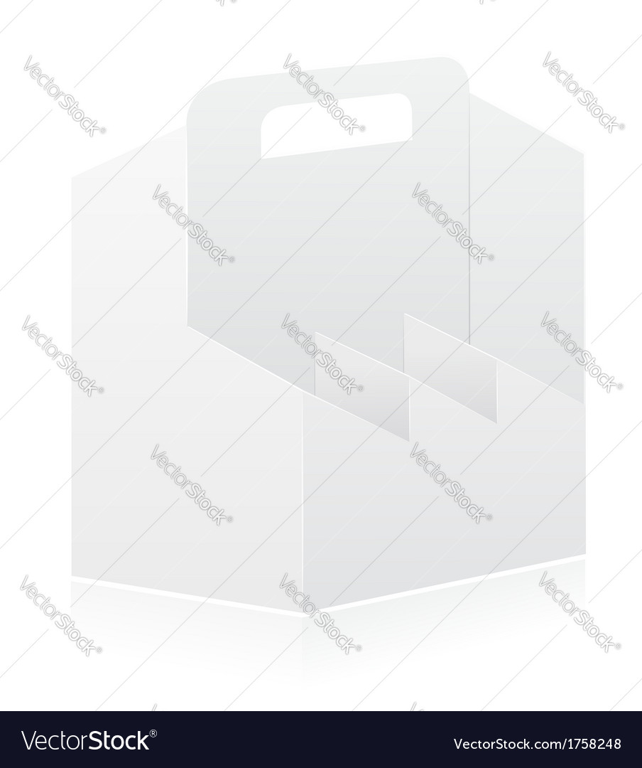 Packing box 12 vector image