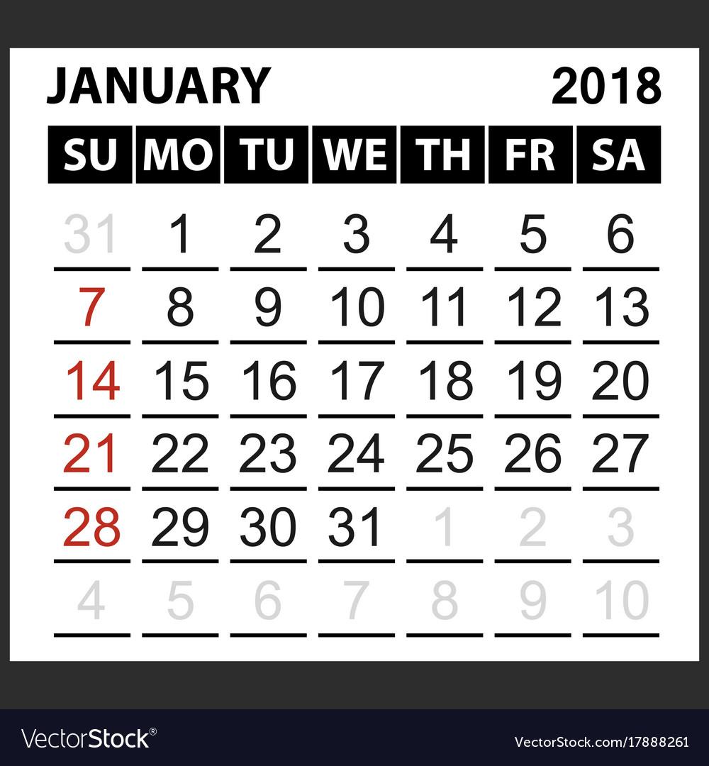 calendar sheet