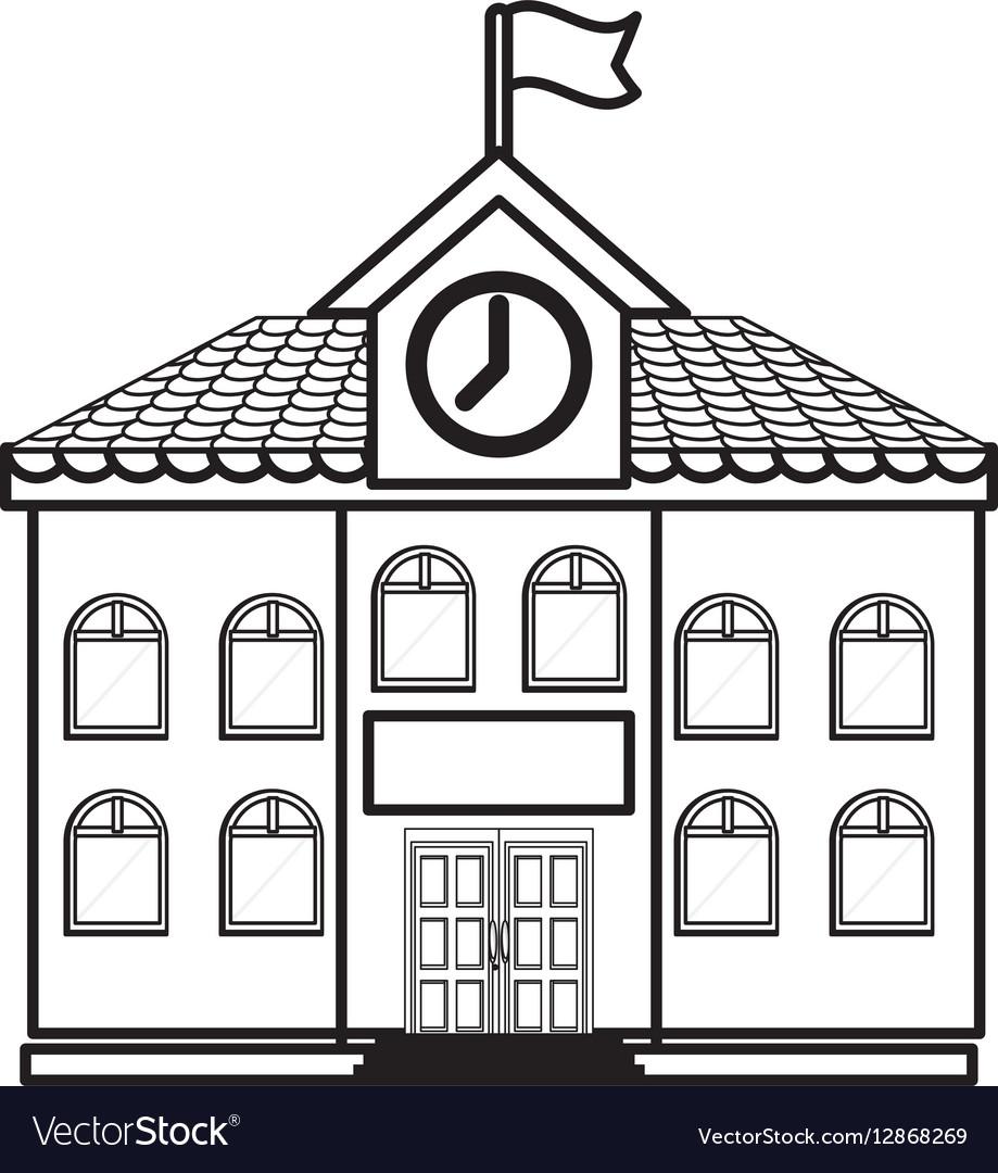 University building symbol royalty free vector image university building symbol vector image biocorpaavc