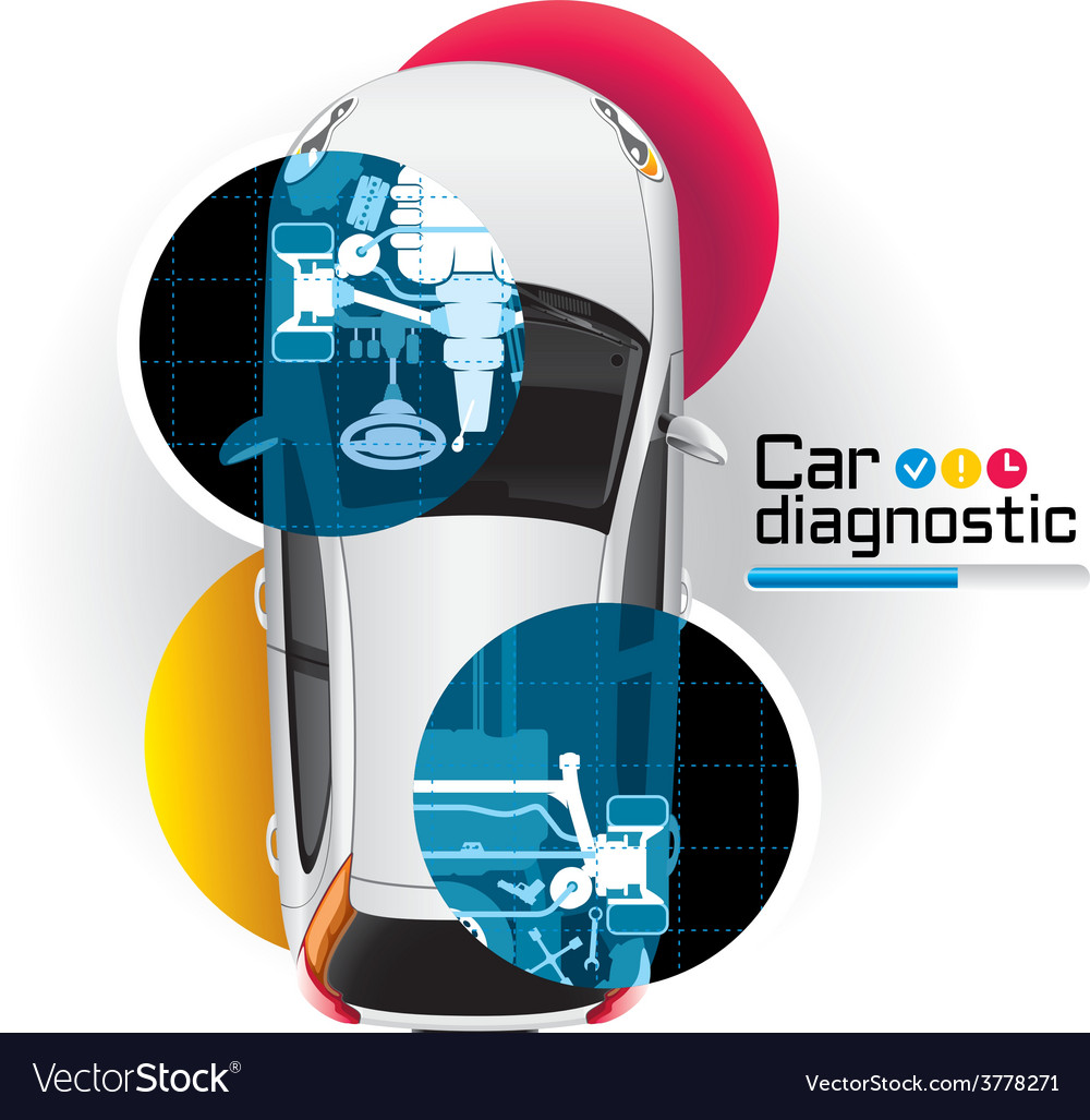 Car diagnostic royalty free vector image vectorstock car diagnostic vector image biocorpaavc Gallery