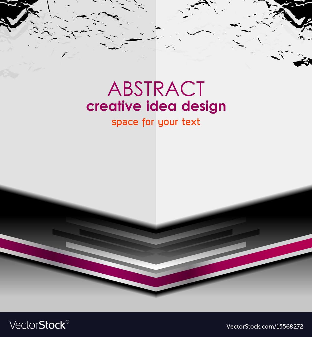 Background grunge design vector image