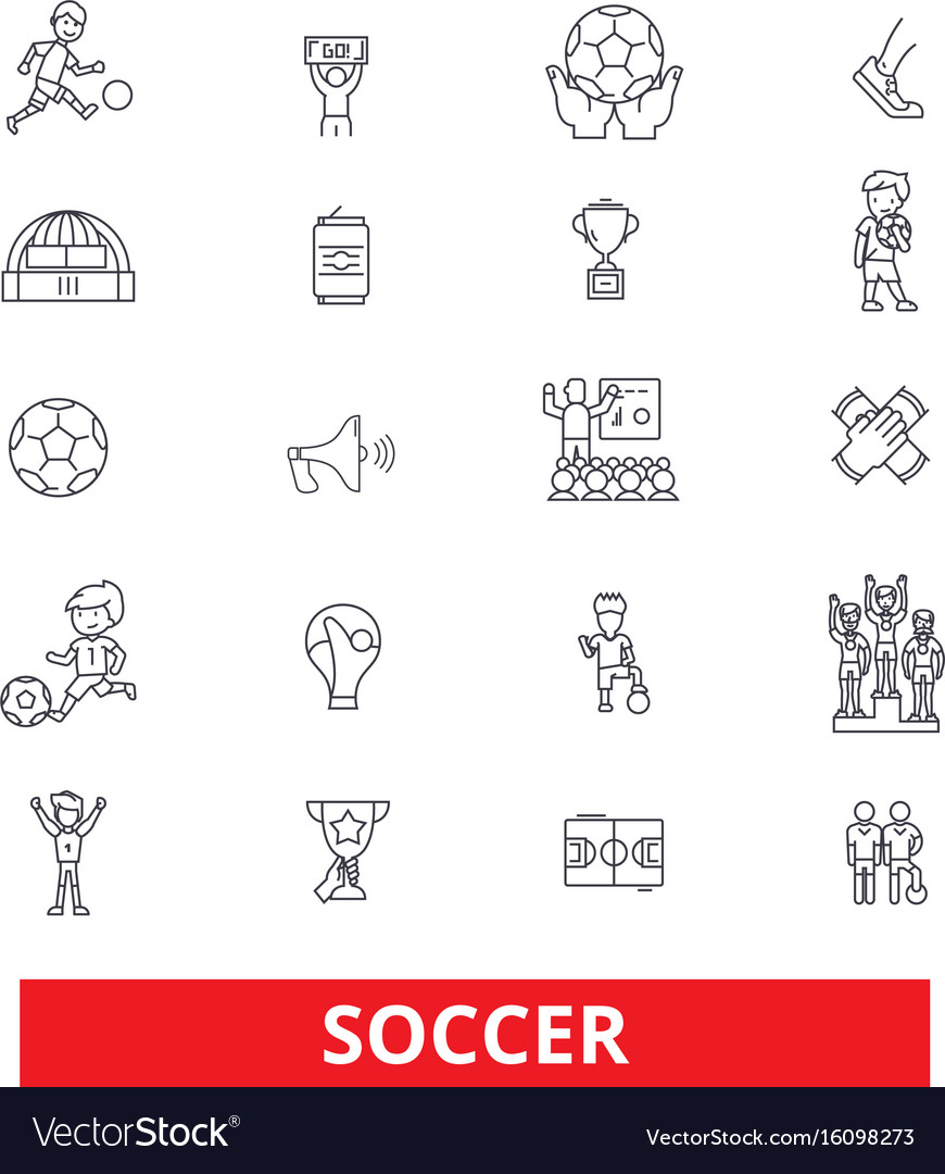 Soccer football game fans goal field play vector image soccer football game fans goal field play vector image pooptronica Images