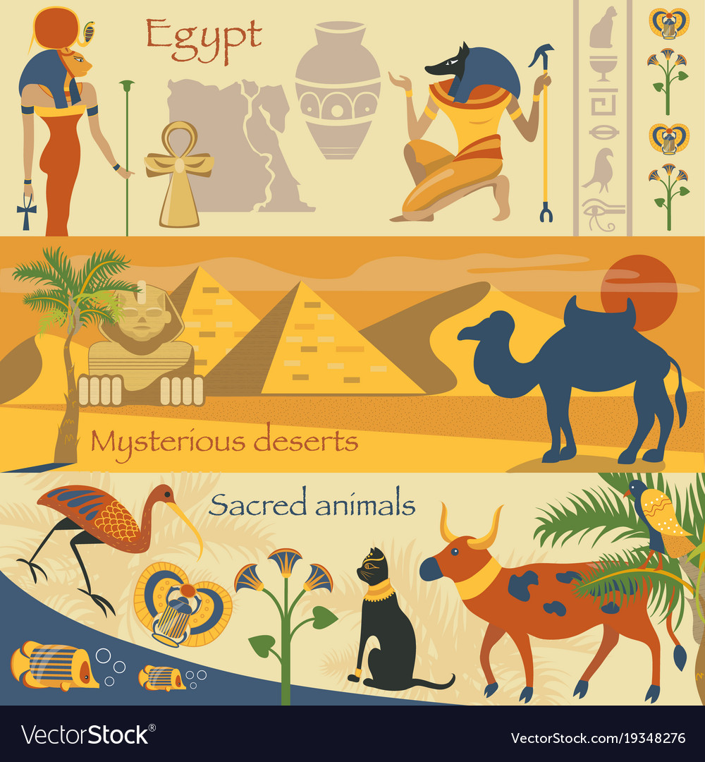 Egypt set egyptian ancient symbols mysterious vector image egypt set egyptian ancient symbols mysterious vector image buycottarizona