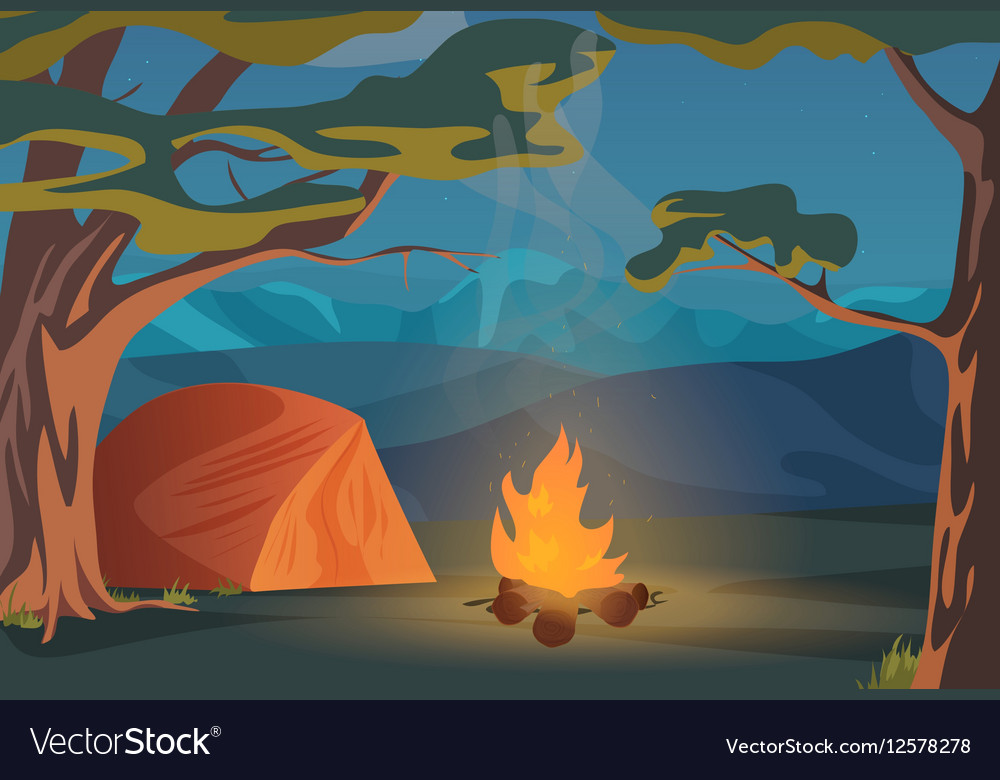 Climbing Walking Hiking or Sports outdoor vector image