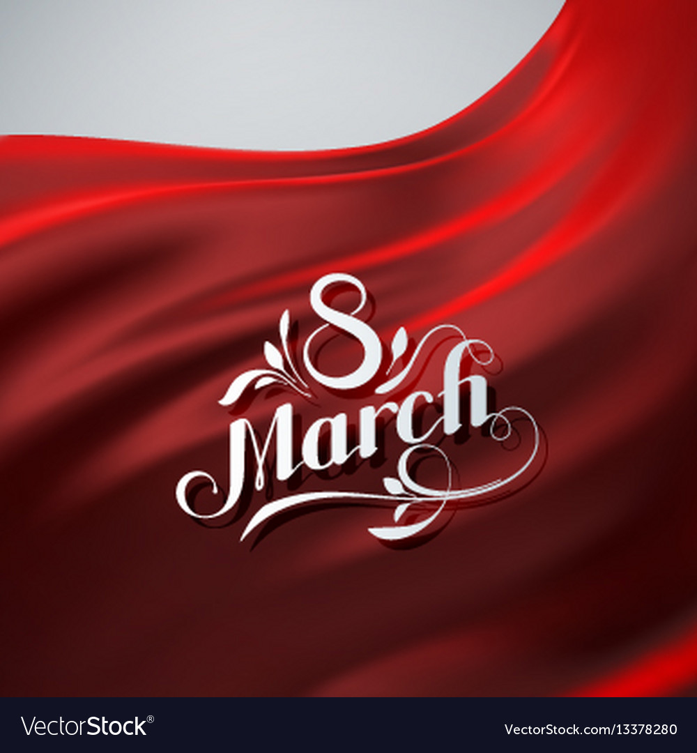 8 march international women day vector image