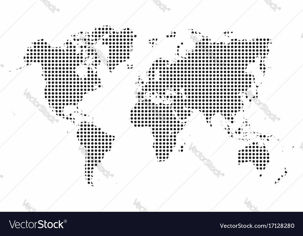 World map world map dots pop art style background vector image world map world map dots pop art style background vector image gumiabroncs Choice Image