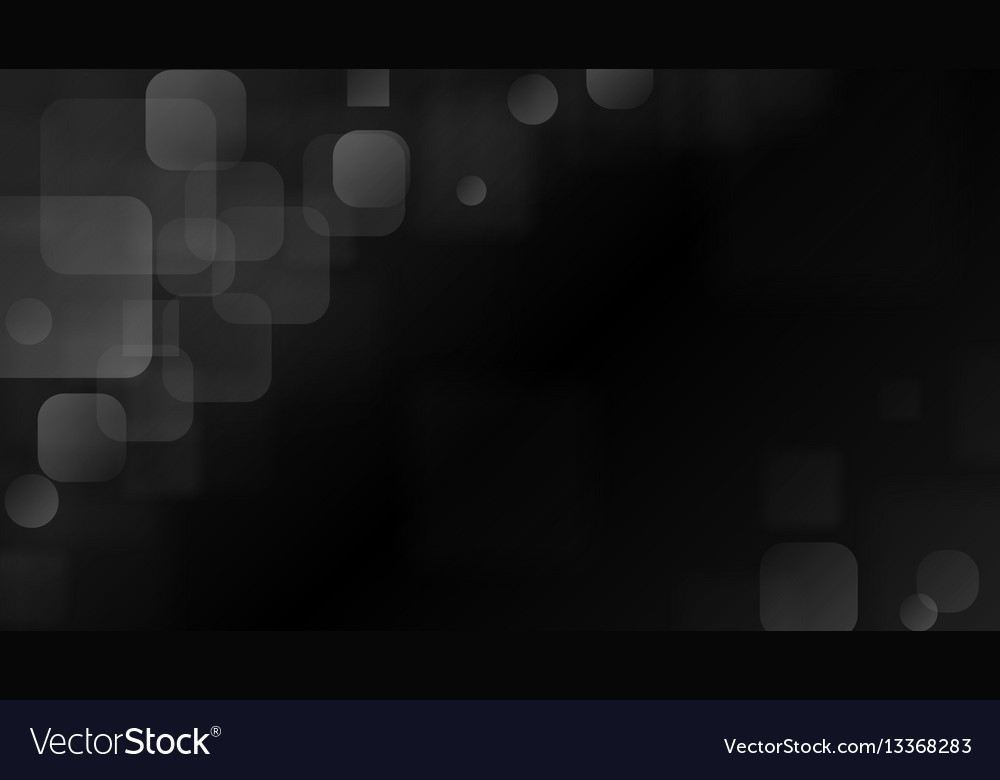 Gray abstract background of blurry squares vector image
