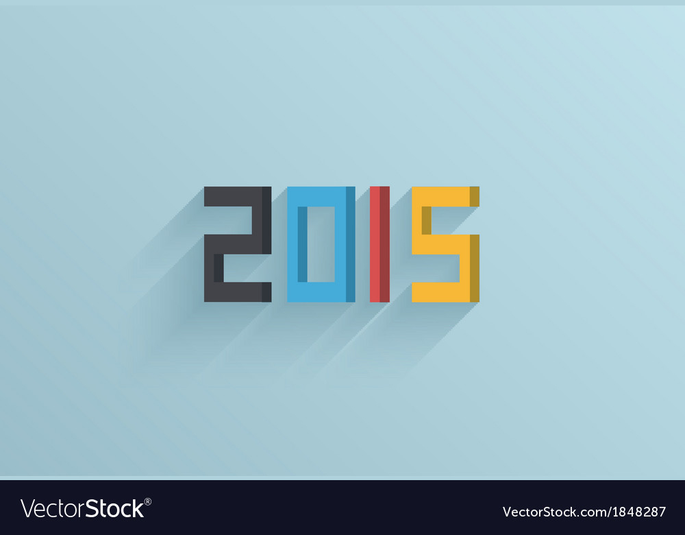 2015 background Eps10 vector image