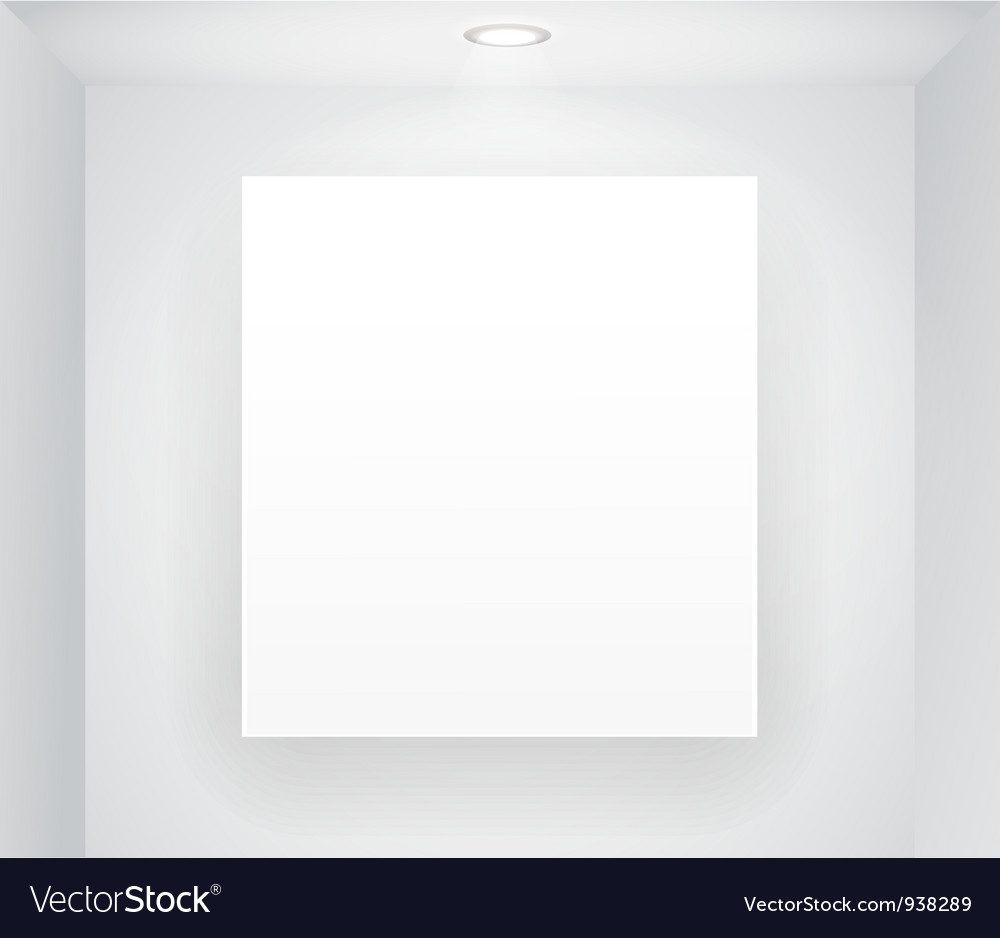 Blank Display vector image