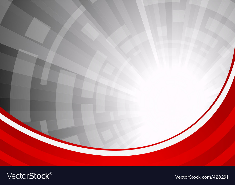 Vector abstract red background vector image