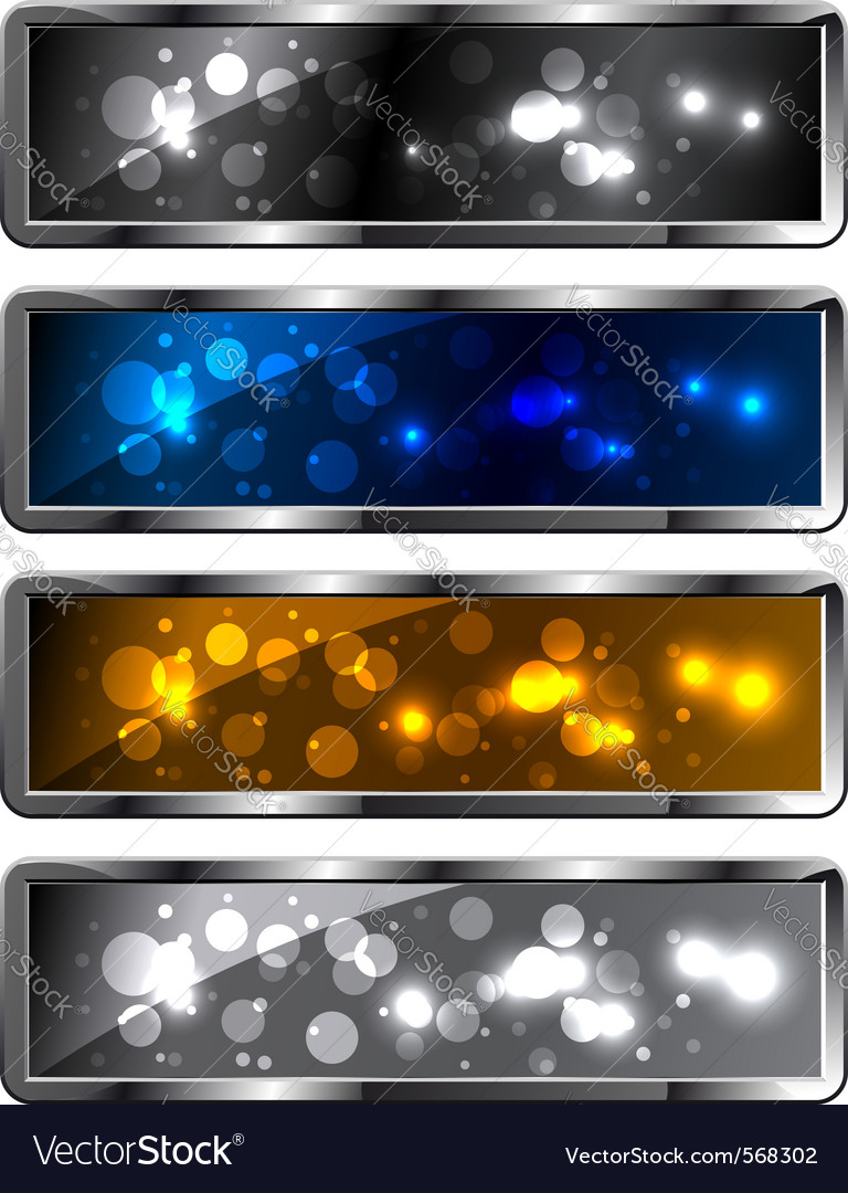 Sparkling backgrounds vector image