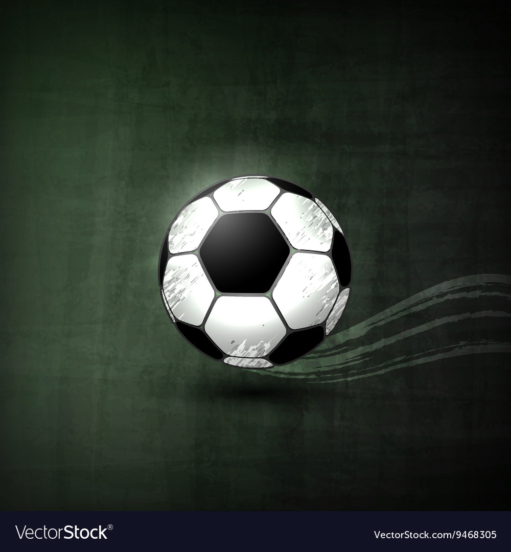 Soccer ball Graphic Concept vector image