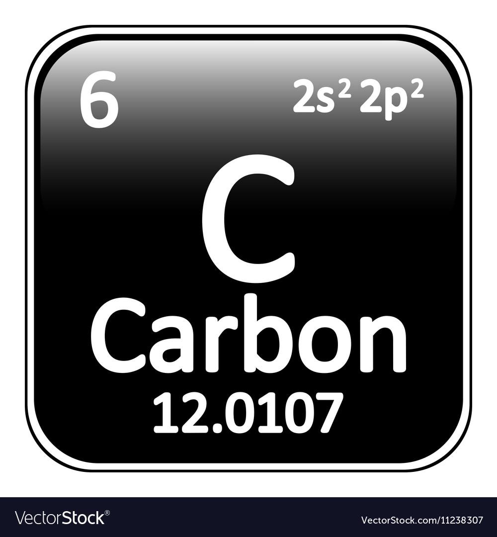 Periodic table element carbon icon royalty free vector image periodic table element carbon icon vector image buycottarizona