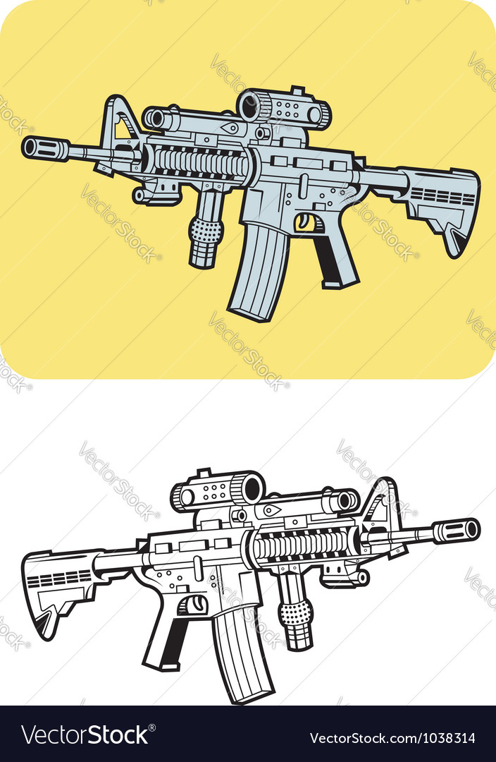Weapon 2 vector image