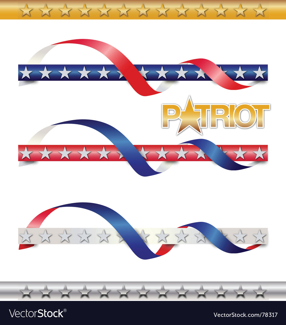 Patriot vector image