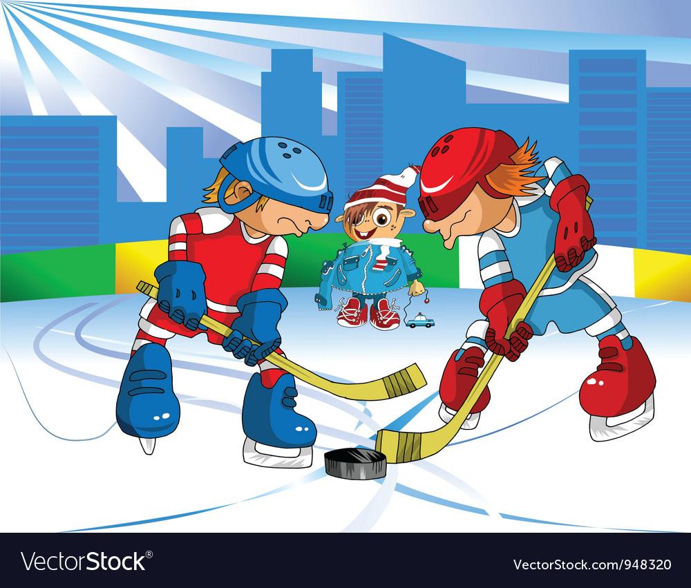 Ice Hockey vector image