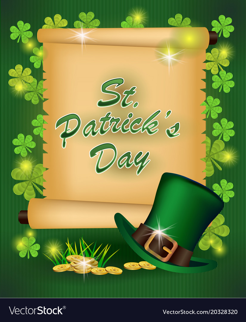 St patricks day greeting royalty free vector image st patricks day greeting vector image m4hsunfo