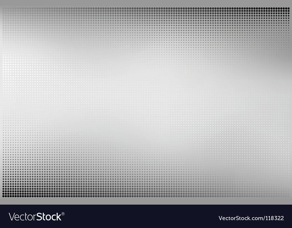Polished metal sheet vector image