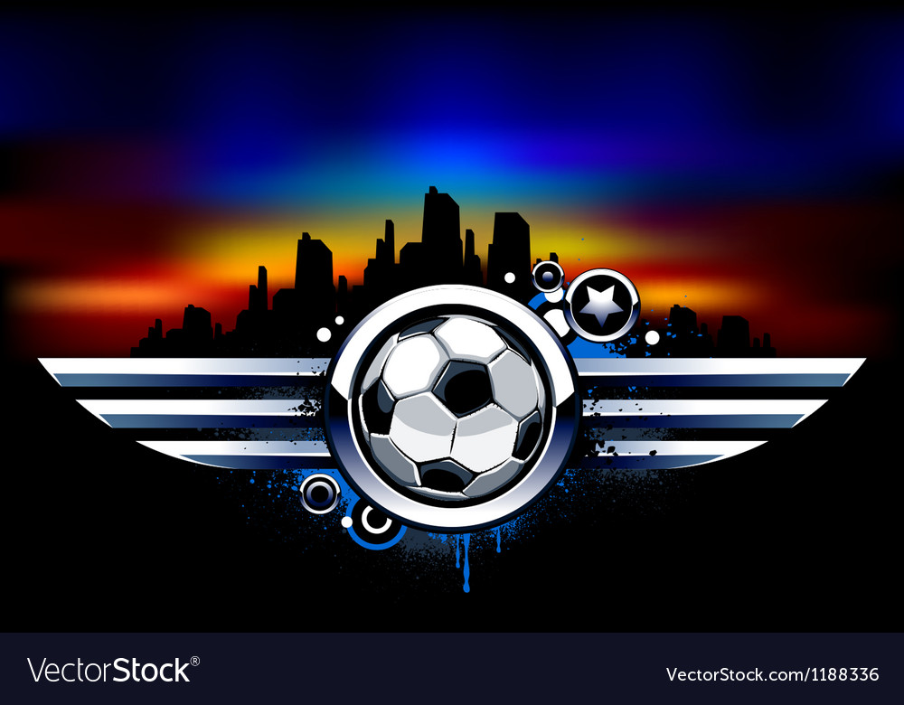 Sport background vector image