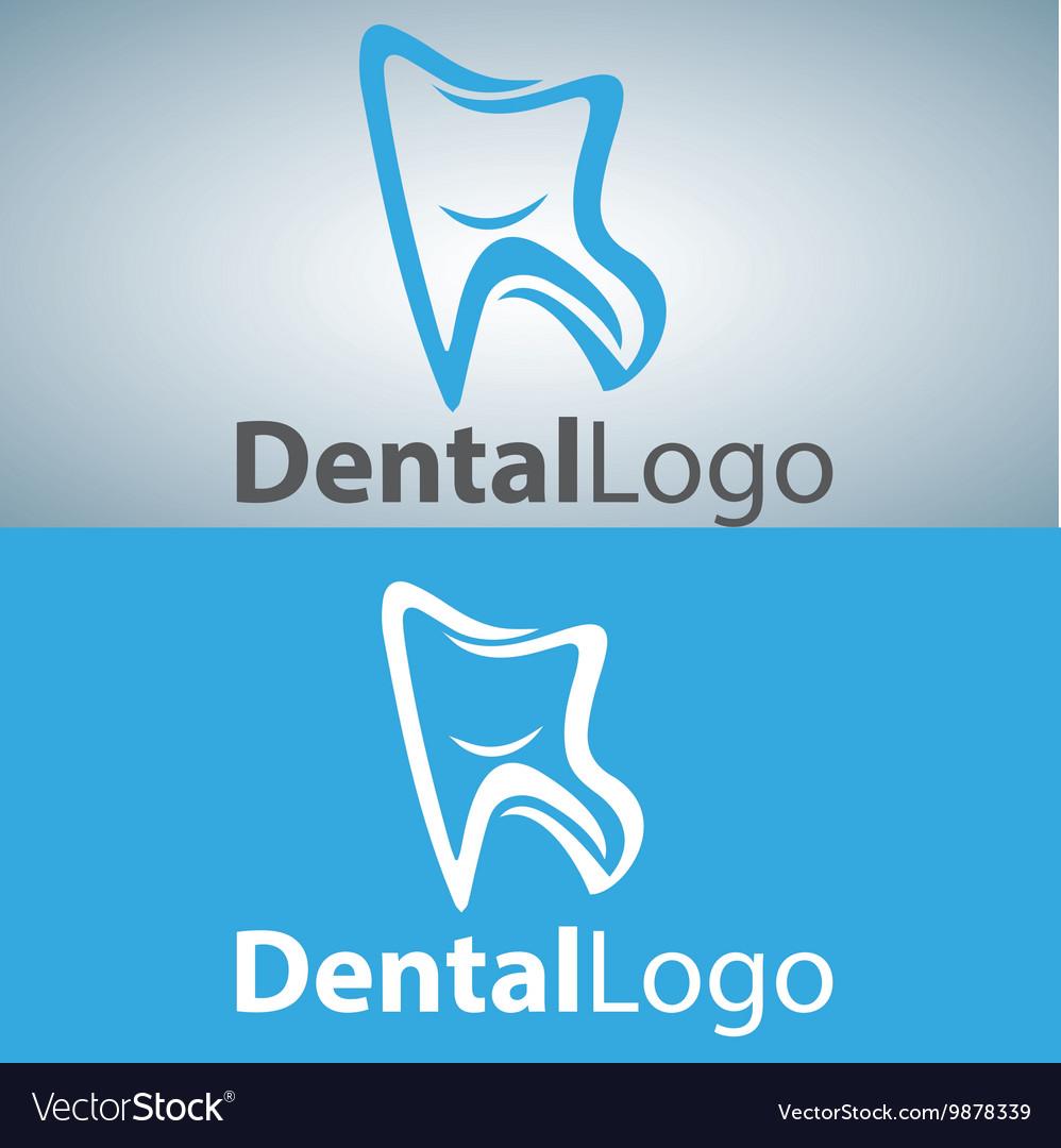 Dental logo 14 vector image