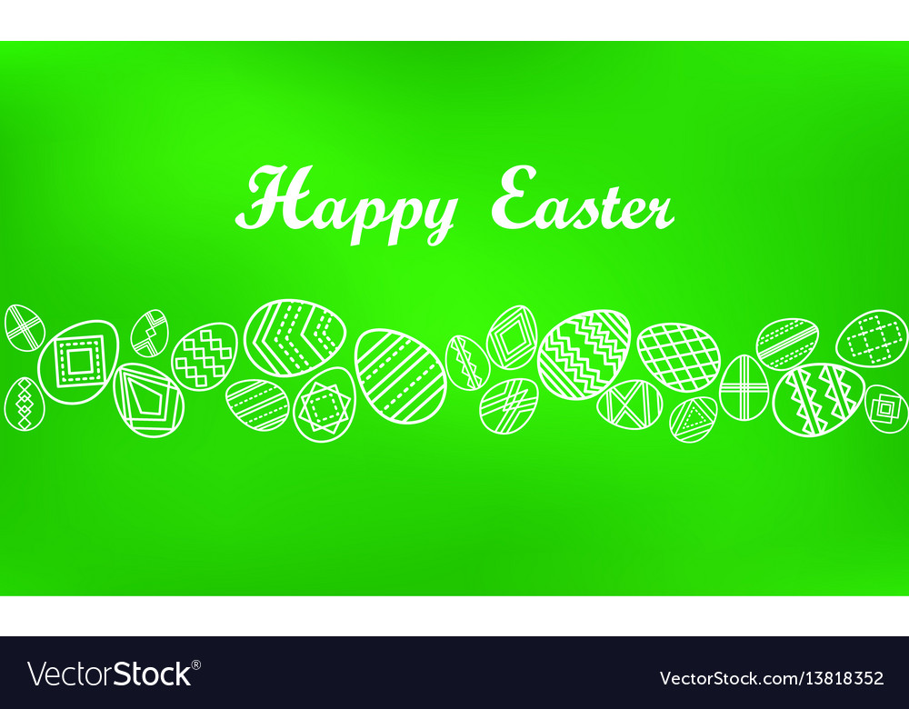 Bright background handwriting inscription happy vector image