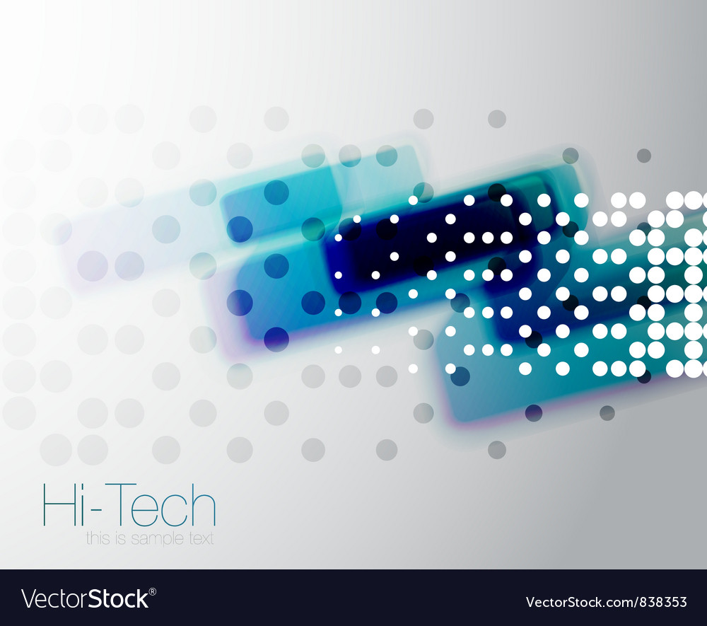 Abstract technolgical background vector image