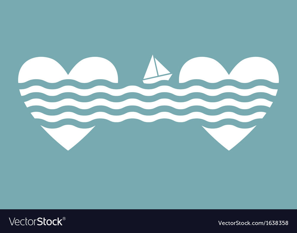 Valentines day concept background vector image