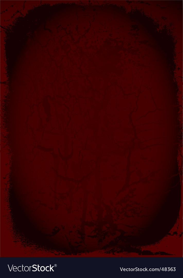 Grunge maroon vector image
