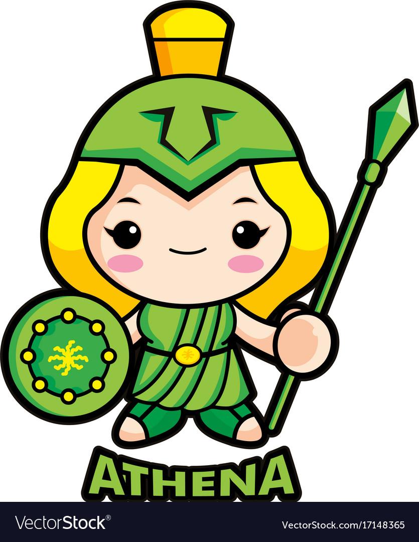 Greek goddess athena vector images 68 goddess of war athena character olympus god vector biocorpaavc