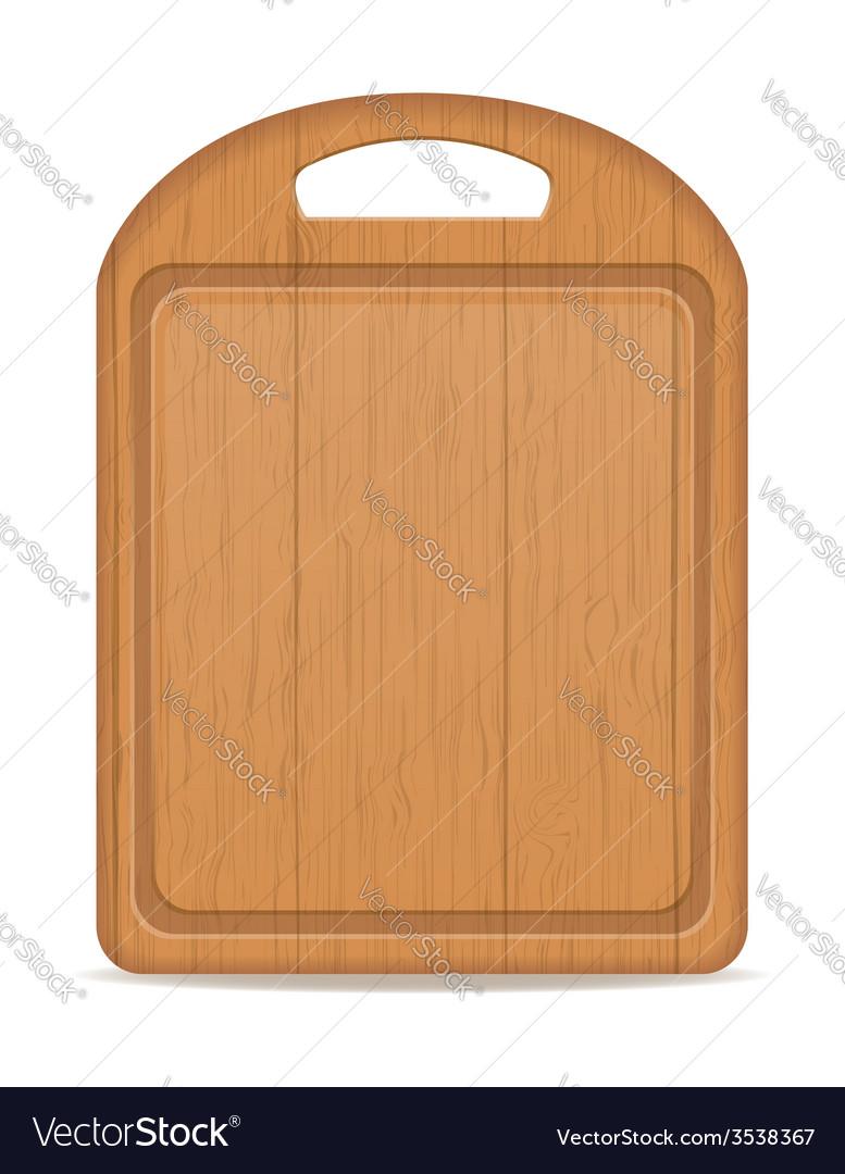 Cutting board 03 vector image