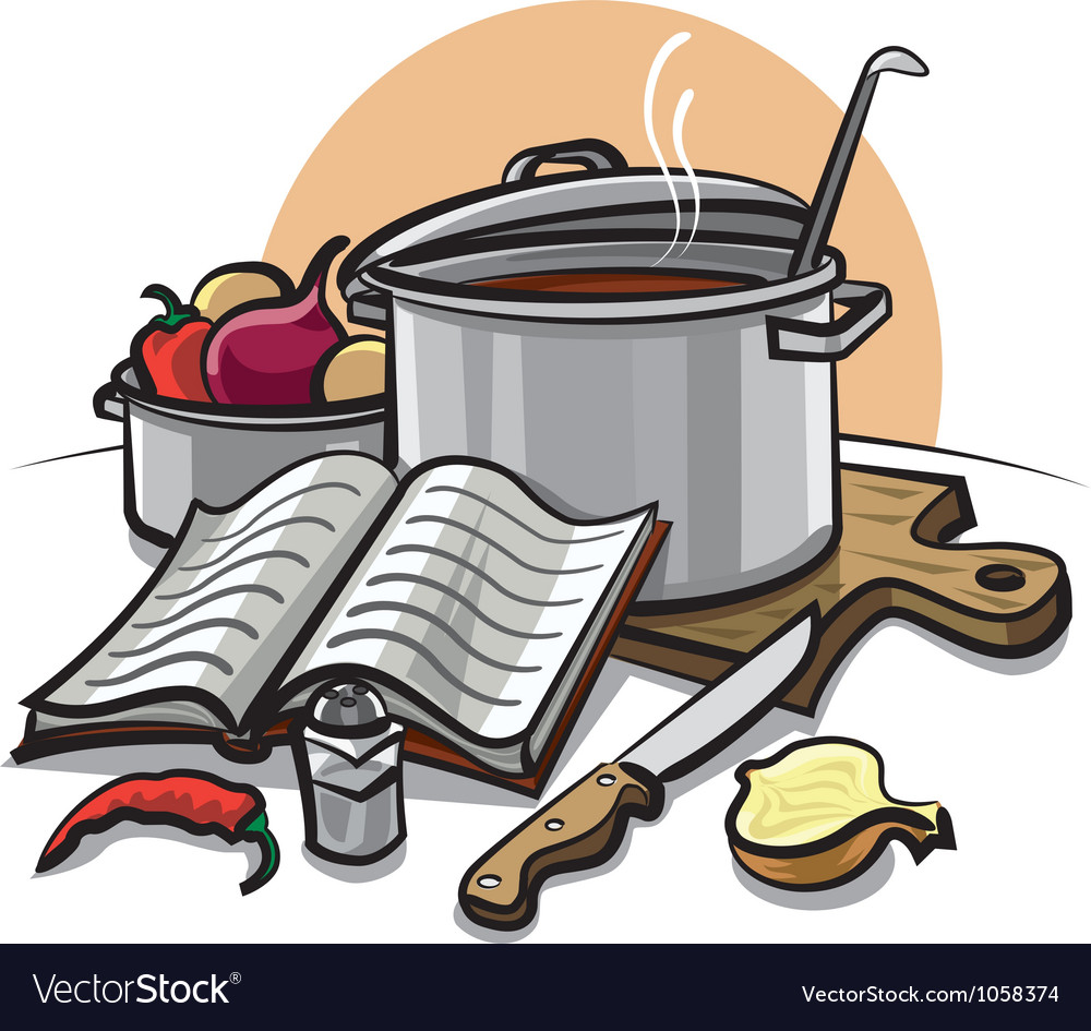 Cookbook vector image