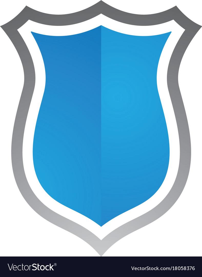 Security guard logo design shield template Vector Image