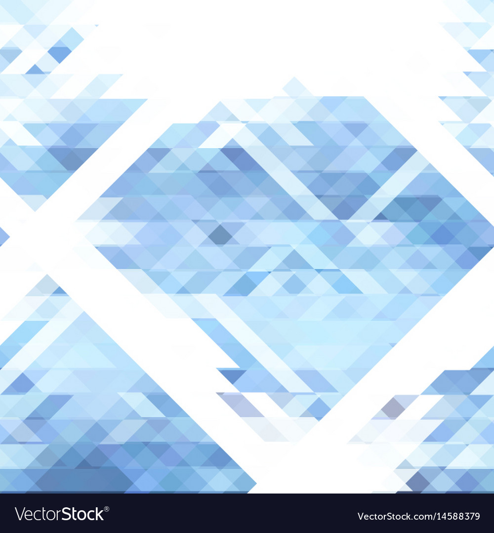 Abstract geometry pattern vector image