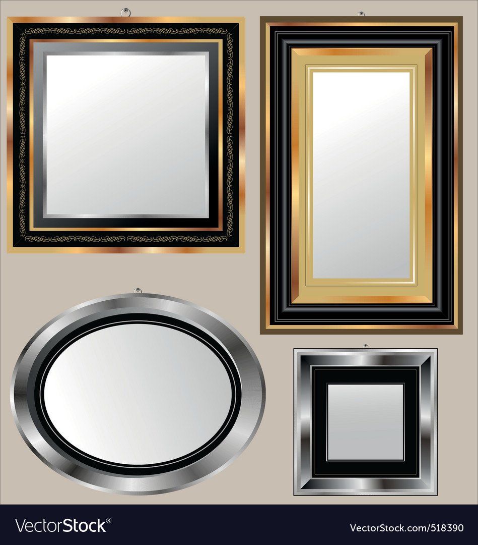 Mirrors vector image