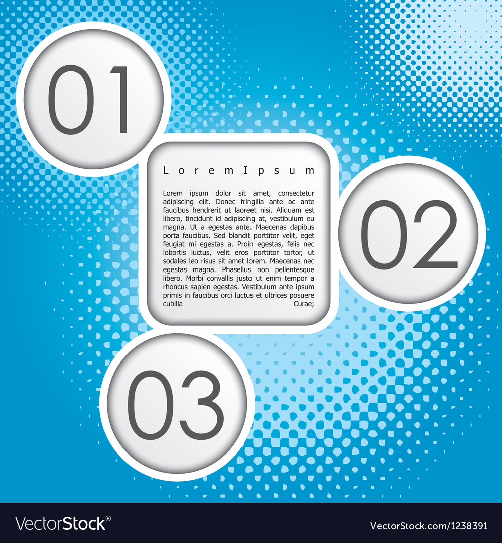 Template for design vector image