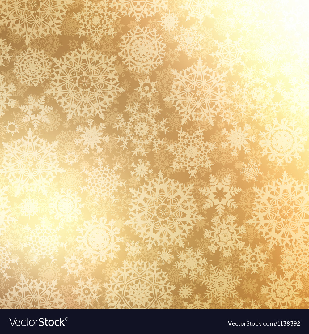 Christmas pattern snowflake background EPS 8 Vector Image