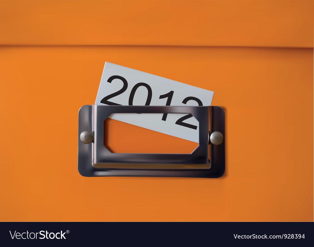 Storagebox vector image