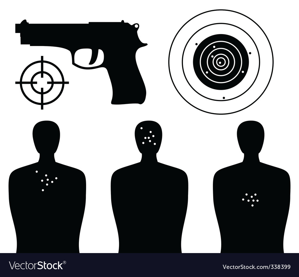Shooting gallery Vector Image
