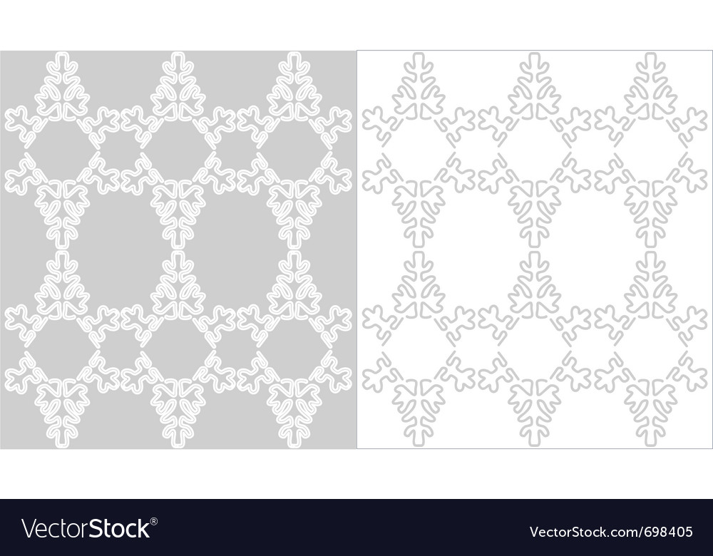 Lace christmas background vector image