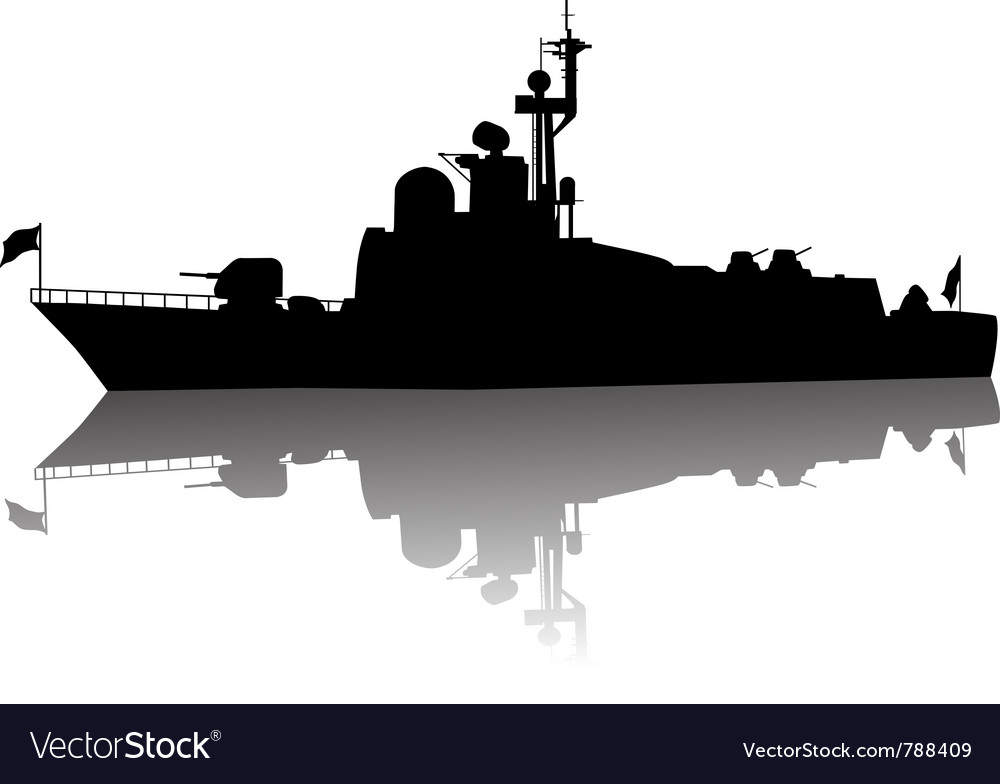 Ship vector image