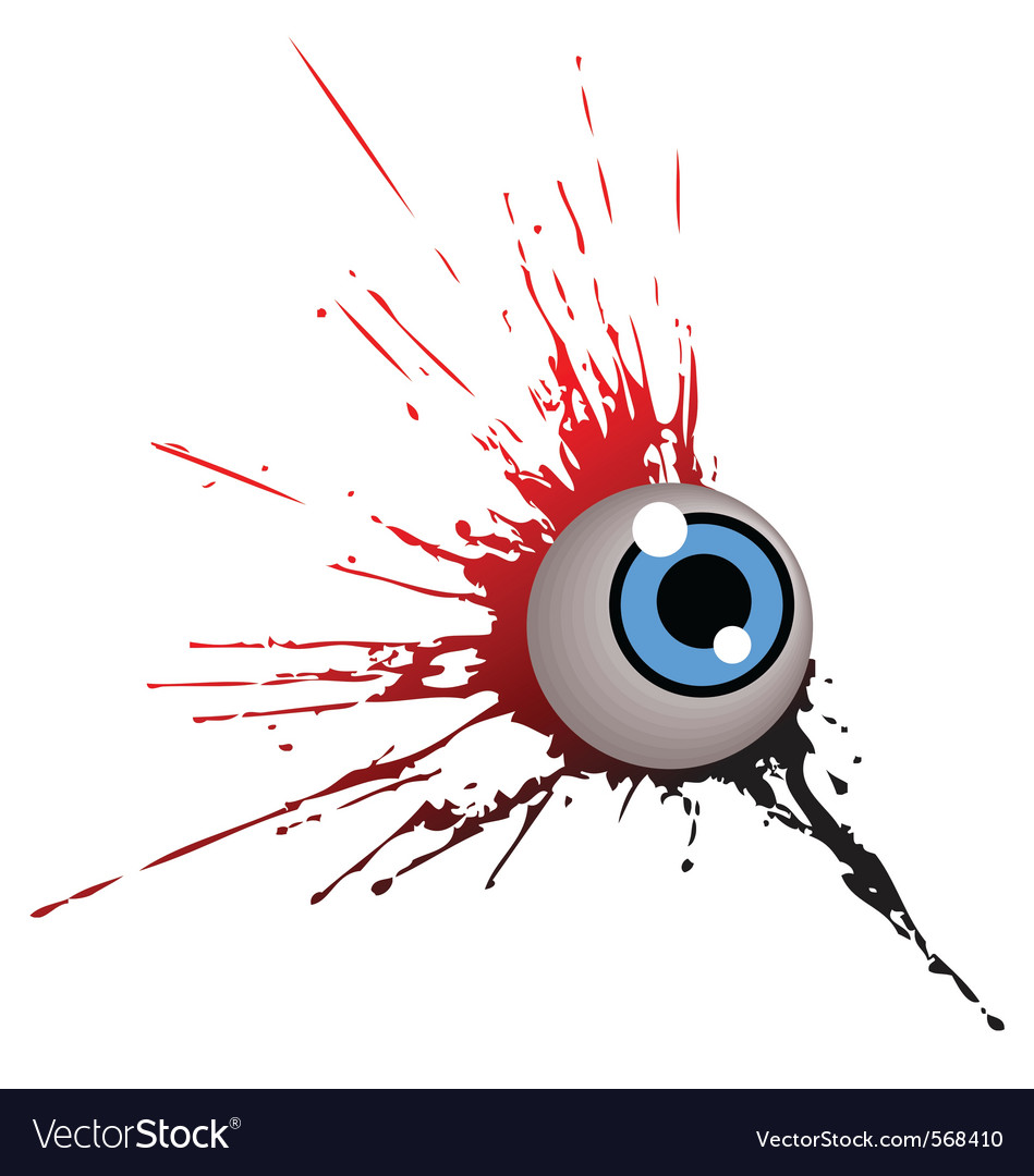 Grunge eye Vector Image